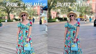 Apple iPhone 13 Pro Max vs Samsung Galaxy S21 Ultra 5G Camera Test Comparison
