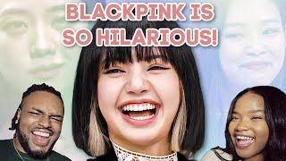 🤣🤣 BLACKPINK being hilarious while promoting their album reaction