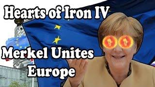 Hearts Of Iron 4: MERKEL UNITES EUROPE - MODERN DAY MOD