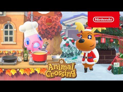 La mise à jour d'hiver arrive le 19 novembre de Animal Crossing : New Horizons