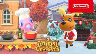 Animal Crossing: New Horizons– La mise à jour d'hiver arrive le 19 novembre! (Nintendo Switch)