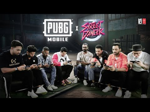 PUBG Mobile X Street Dancer 3D Gameplay    Varun D, Shraddha K   Nora Fatehi, Remo D'Souza