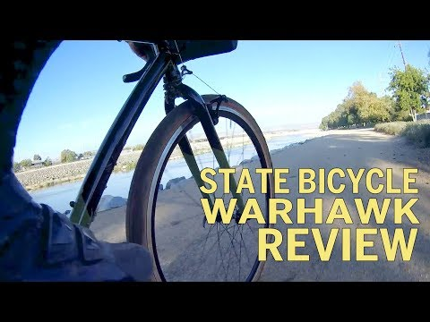 State Bicycle Warhawk Single Speed Cyclocross Bike Review