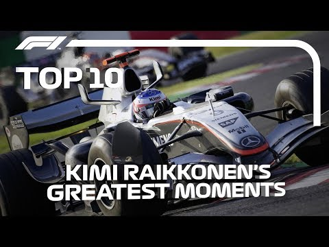 Top 10 Kimi Raikkonen F1 Moments