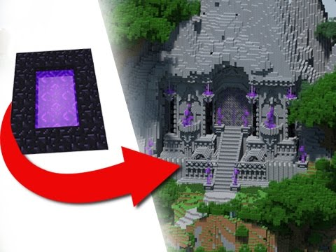 How To Transform A Nether Portal - EPIC Build!
