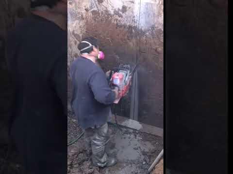 Foundation Cutting for Bilco