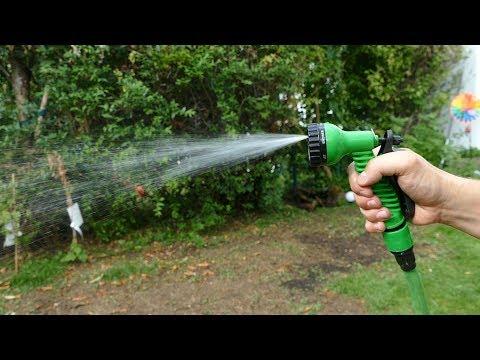 Flexischlauch - drehnbarer Gartenschlauch bis zu 30 Meter - flexibler Wasserschlauch