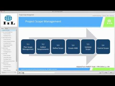 Project Scope Management: IIL's Project Management Certificate ...