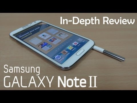 Samsung Galaxy Note 2 (Note II) Full Review - Cursed4Eva.com