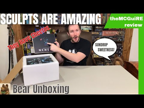 theMCGuiRE review looks at A Bear Unboxing of NEMESIS - Kickstarter
