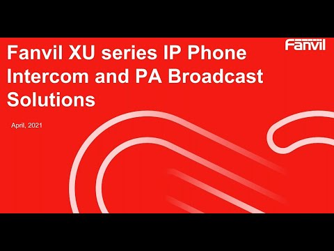 VoIP Lineup Overview Introduction