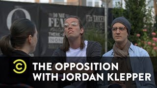 Paid Protesters Give the Performance of a Lifetime - The Opposition w/ Jordan Klepper