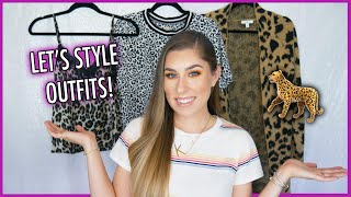 How To: STYLE LEOPARD PRINT   #TRENDALERT