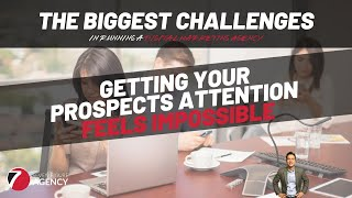 It's almost impossible to get your prospects attention