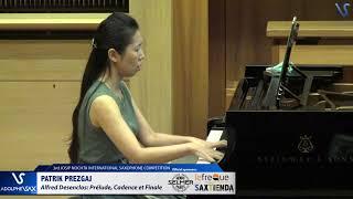 Patrik Prezgaj plays Prelude, Cadence et Finale by Alfred Desenclos