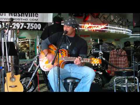 Rusty Carder playing the NashvilleEar.com Songwriter Stage show Nov 6th 2010