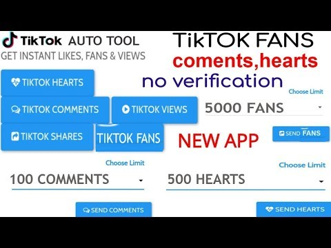 Video Tiktok Pay Real Fans Hearts Comments Kaise Bhadaya| Free