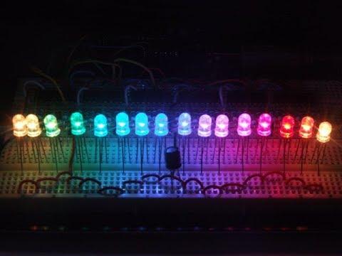 50pcs LED RGB Common Cathode 4-Pin F5 5MM Diode