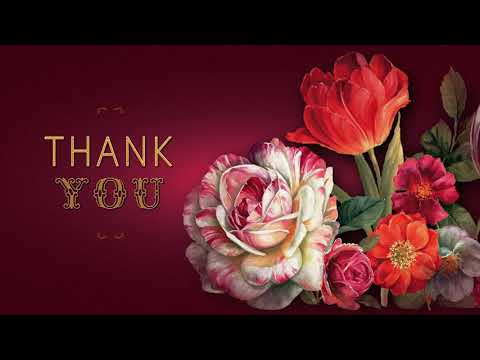 🌹🌹🌹Thank You!🌹🌹🌹Video Greeting Cards #WhatsApp