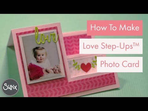 DIY Love Step-Ups  Photo Card