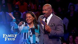 Taylors take down $20,000!!! | Family Feud