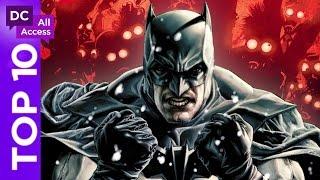 Top 10 Batman Stories You've Never Read