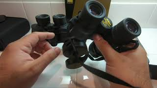 Nikon Aculon A211 8X42 Unboxing Compared to Monarch 5 Best Cheap Binoculars Test 4K