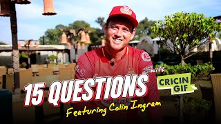 15 Questions With Cricingif - ft. Colin Ingram