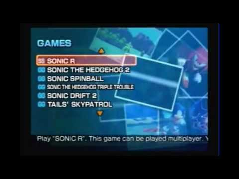 Sonic Gems Collection Xbox