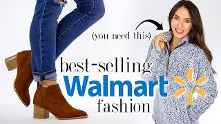 10 BEST-SELLING Clothes & Shoes from Walmart! *must-haves*