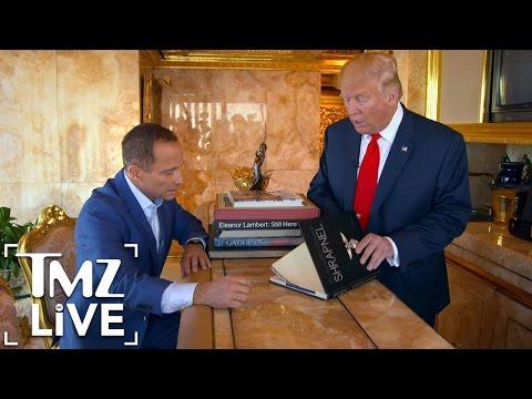 Donald Trump OBJECTified – Harvey Levin Interviews President-Elect Trump | TMZ Live