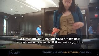 Project Veritas has released the second installment in an undercover video series unmasking the deep state. This video features a Department of Justice paralegal Allison Hrabar reportedly using government owned software and computers to push a socialist agenda. Also featured is Jessica Schubel, the former Chief of Staff for the Centers for Medicare and Medicaid Services  during the last Obama administration.  Both Schubel and Hrabar make admissions revealing that federal employees are using their positions in the government to resist or slow the Trump administration's policies, some breaking laws in the process.  Featured in this video are:  Richard Manning of https://www.firetheswamp.com Bill Marshall of https://www.judicialwatch.org  Newsletter: https://www.projectveritas.com/sign-u...  Website: http://projectveritas.com/  Facebook: https://www.facebook.com/ProjectVeritas  Twitter: https://twitter.com/Project_Veritas  Buy James O'Keefe's book: http://www.americanpravdabook.com