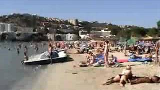 preview picture of video 'Santa Ponsa Beach'