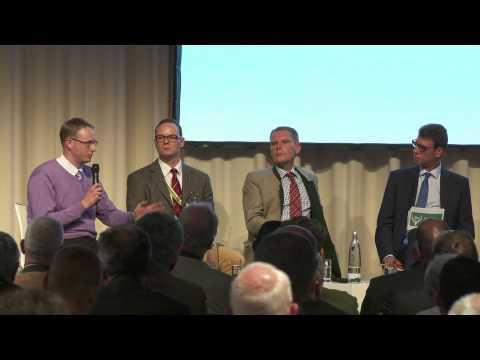 Bundesjägertag 2014 - Experten auf dem Podium zur Zukunft der Jagd in Deutschland