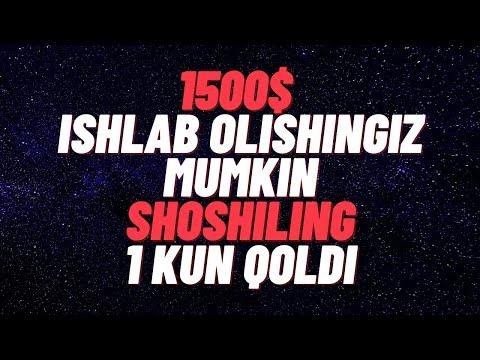 BOMBA AIRDROP 1500$ ISHLAB OLISHINGIZ MUMKIN SHOSHILING 1 KUN QOLDI