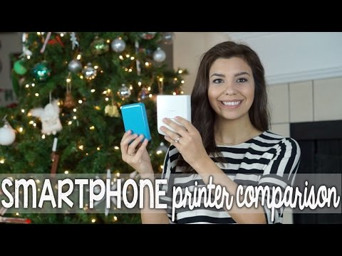 Smartphone Printer Comparison: Polaroid ZIP vs. Fujifilm Instax