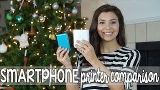 Smartphone Printer Comparison: Polaroid ZIP Vs. Fujifilm Instax