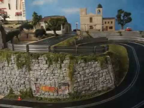 Slot Car Chase at the Targa Florio (Scalextric Digital)
