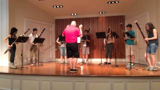 New Jersey AllStar Bassoon Ensemble - Rehearsal #1 6/12/14