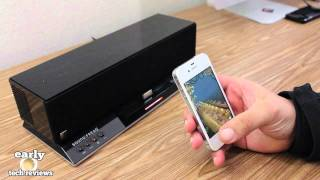 SOUND FREAQ - SFQ-02 Sound Step Bluetooth Wireless Audio System Review/Sound Demo