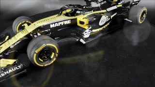 Solido Renault Sport F1 RS18 Pre-Launch Version 2018
