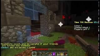 walking dead in minecraft