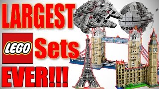 TOP 10 LARGEST LEGO SETS EVER!!! 2016 HD