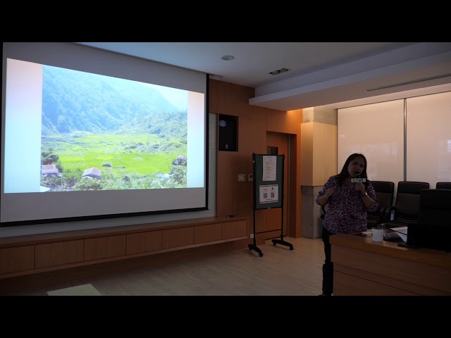 Foresight Forum - Toward Sustainability Transition Driven by Climate Change: The Opportunities for East Asia -  Dr. Leah Abayao - 2018august