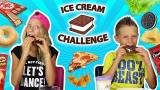 Ice Cream Sandwich Challenge!!!!