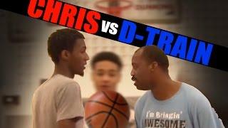 1 on 1 basketball, Game 070 (D-Train vs Chris) - V1F