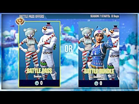 Fortnite Season 7 Battle Pass Skins Season 7 Battle Pass Bundle