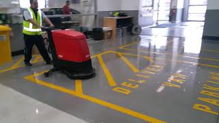 Workshop Floor Cleaning