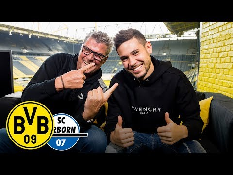 """""""Many things to achieve here!""""  Raphaël Guerreiro joins Matchday Magazine   BVB - SC Paderborn"""