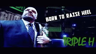 Triple H - Born to Raise Hell